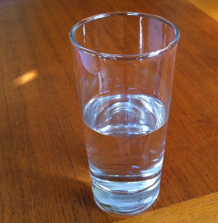 Is Your Glass Half Empty Or Half Full? Think Again