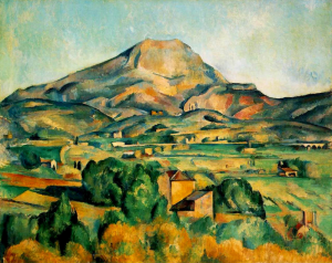 Cezanne's painting of Mt. Sainte Victoire use your spiritual eyes to see God's glory