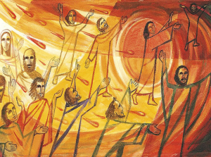 the pentecost, what happened on the day of pentecost, the holy spirit at pentecost, the holy spirit came on pentecost, pentecost and the holy spirit, coven tongues of fire, pentecostal fire, speaking in tongues holy spirit, people speaking in tongues, the gift of speaking in tongues, gioft of speaking in tongues, Bible study on speaking in tongues, baptism of the holy ghost, speaking in other tongues, receiving the holy ghost and speaking in tongues