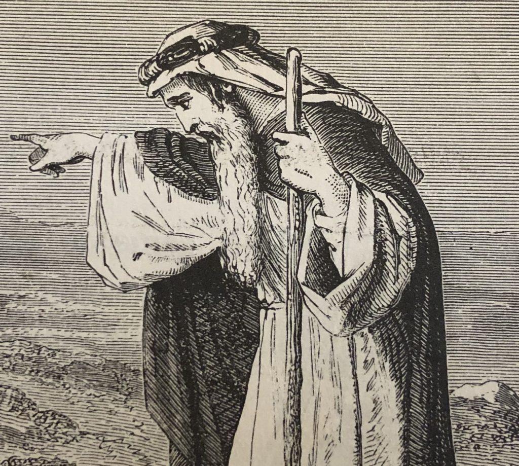 picture of a bible prophet, be a prophet