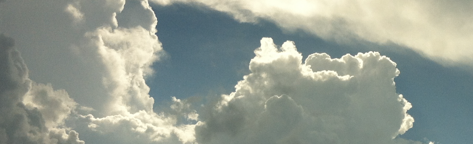 Clouds, the kingdom of heaven is at hand