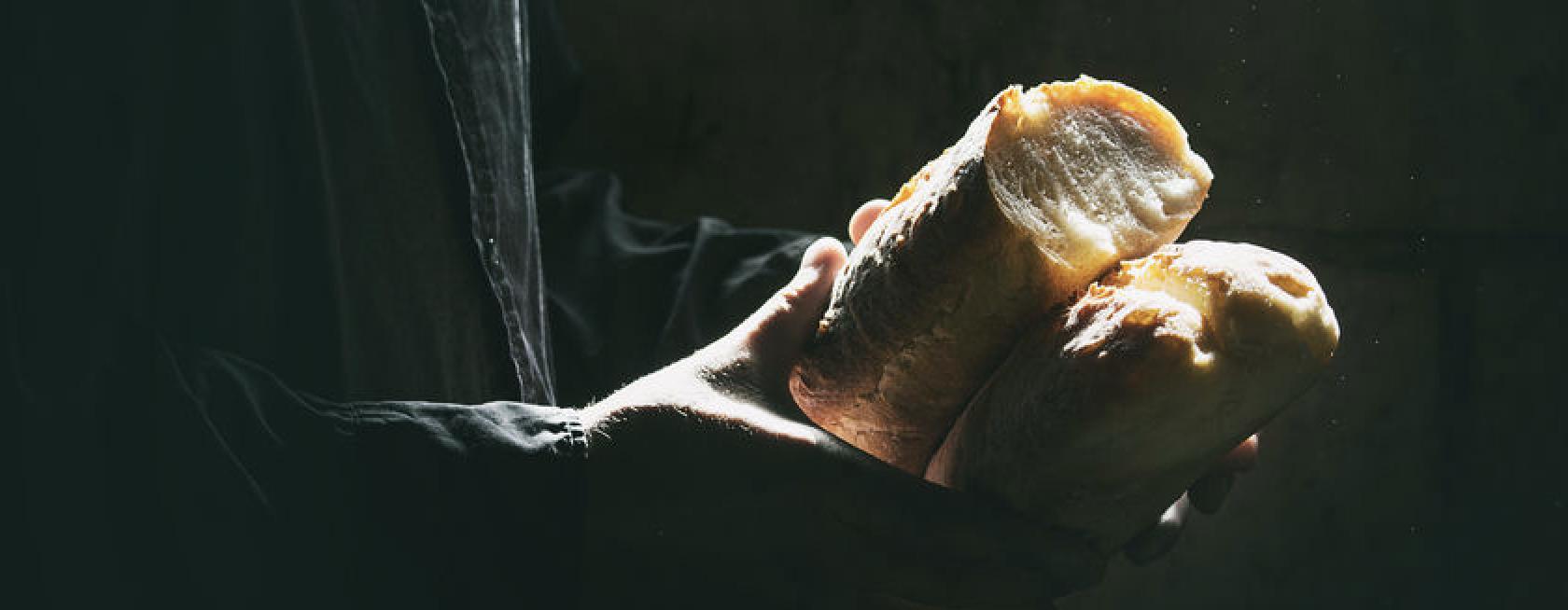 sharing bread, biblical fasting is sharing bread