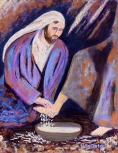 Jesus washing feet, be more like Jesus
