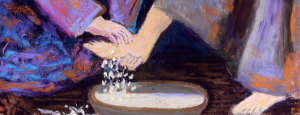Jesus washing feet, to be more like Jesus