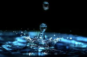 water drop, God's healing power