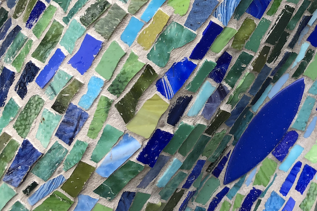 blue mosaics, Your Name Is Written in Heaven